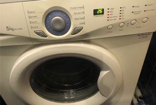 Ремонт стиральной машины лджи (LG) замена амортизаторов