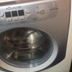 Ремонт стиральной машины Хотпоинт Аристон аквалтис ( Hotpoint Ariston Aqualtis (замена насоса ,помпы)
